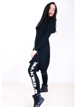 Rimini legging with NY print