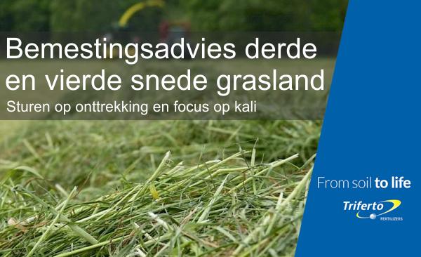 Bemestingsadvies grasland 3-4 snede