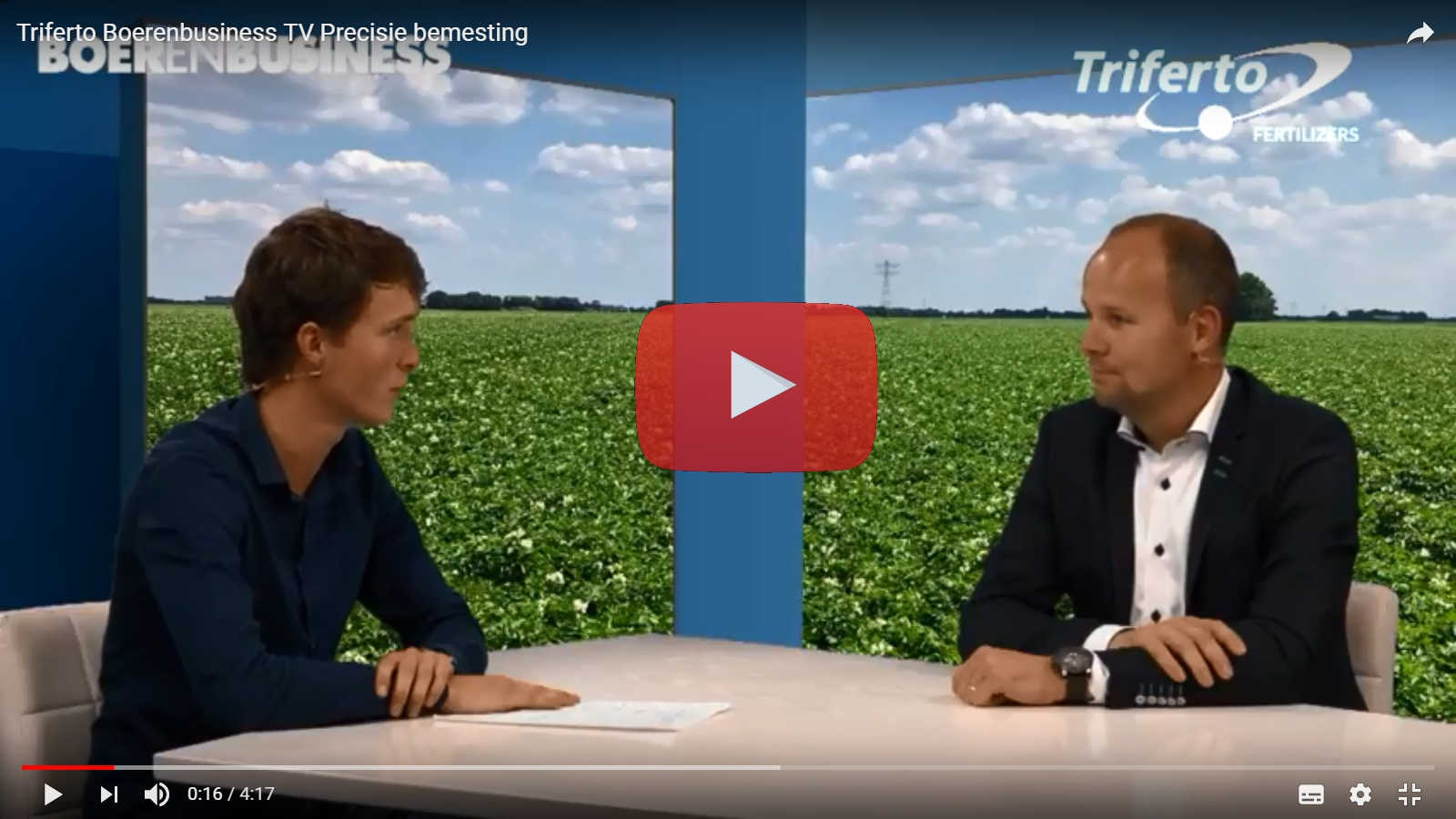 Boerenbusiness TV: Triferto over precisiebemesting