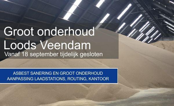 Groot onderhoud loods Veendam