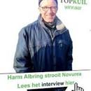 Topkuil winnaar Albring strooit Novurea
