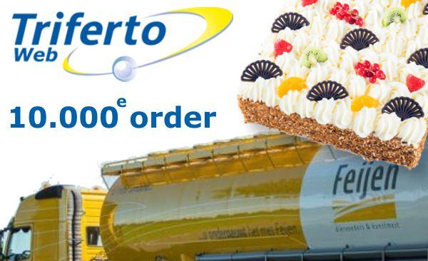 10.000e order via TrifertoWeb