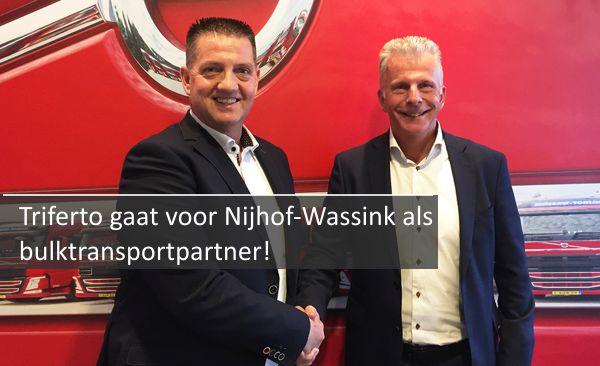 Triferto gaat voor Nijhof-Wassink als bulktransportpartner