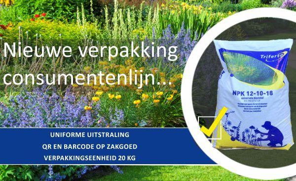 Vernieuwde verpakking consumentenlijn