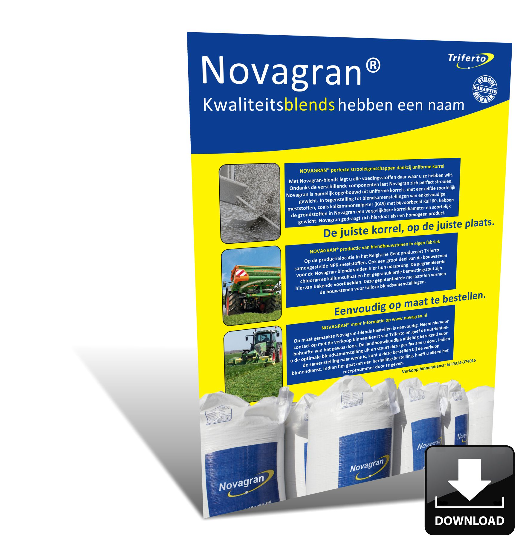 Novagran Blend meststoffen van Triferto