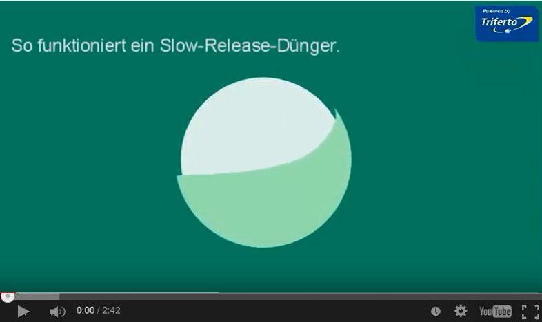 Slow release dünger - Triferto - Video