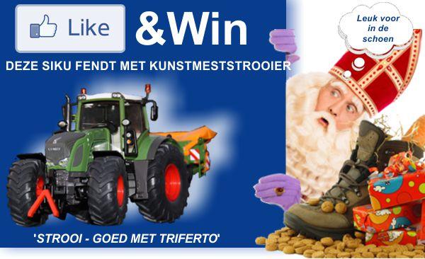 Winnaars Siku Fendt Farmer minatuurtrekkers met kunstmeststrooier