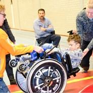 Inschrijven voor rolstoeltraining najaar 2017