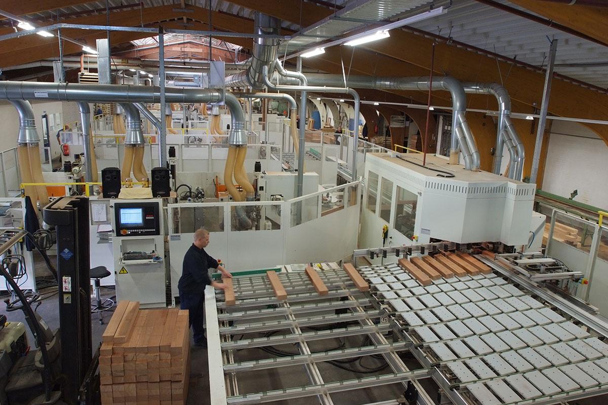 Productie houten kozijnen