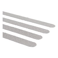 Antislip sticker trap langwerpig (grijs 15 stuks)