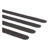 Antislip sticker trap langwerpig (zwart 15 stuks)